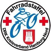 Fahrradstaffel des DRK Hamburg-Nord