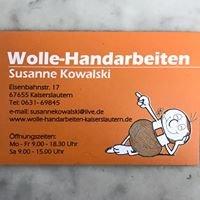 Wolle-Handarbeiten
