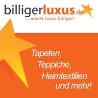 BilligerLuxus.de - Tapeten, Teppiche, Heimtextilien Online