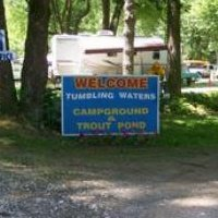Tumbling Waters Campground & trout pond