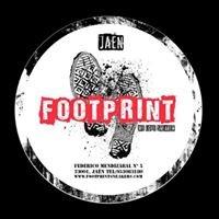 Footprint sneaker