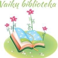 Kuršėnų Vytauto Vitkausko bibliotekos Vaikų literatūros skyrius