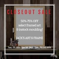 Jack's Fine Art and Framing