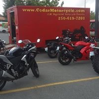 Cedar Motorcycle Riding school