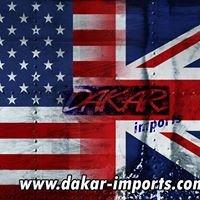 Dakar-Imports USA to the UK