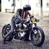 Retro Biker Helmets