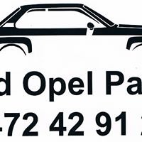 Old opel parts