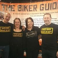 The BIKER GUIDE at Manchester Bike Show