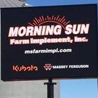 Morning Sun Farm Implement