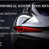 Automobilių kosmetinis remontas