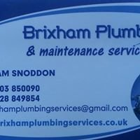 Brixham plumbing & maintenance services