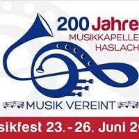 Musikfest Haslach 2016