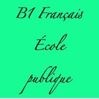 EOI 1 Français B1