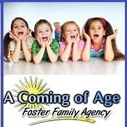 A Coming Of Age. Foster Family Agency. - Foster Care