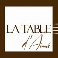 La Table d'Aimé