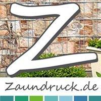 Zaundruck.de - Bedruckter Zaun Sichtschutz