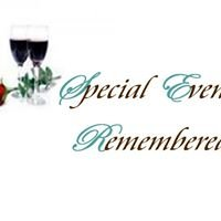 Special Events Remembered
