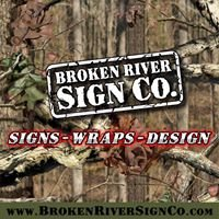 Broken River Sign Company