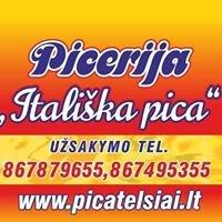 """Picerija Telšiai """"Itališka pica"""""""