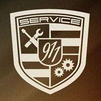 Porsche servisas