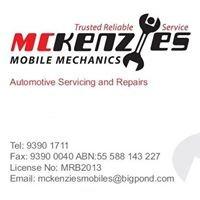 McKenzies Mobile Mechanics