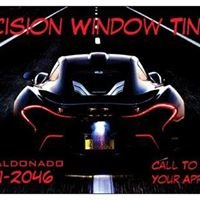 Precision Window Tinting