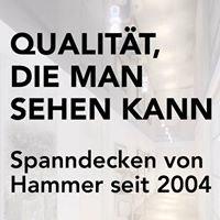 Spanndecken Hammer Ludwigsburg