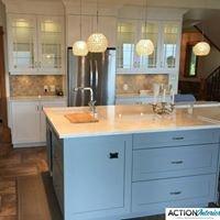 Action Interior Cabinet Refinishing & Renovating