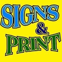 Signs & Print