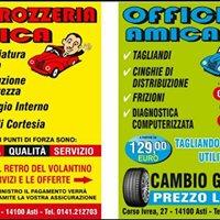 Carrozzeria Amica - riparazione autovetture ad Asti