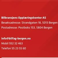 Bilbransjens Opplæringskontor As Bergen