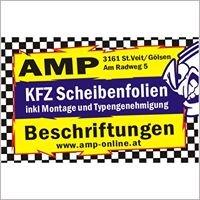 AMP KFZ Scheibentönungen & Beschriftungen