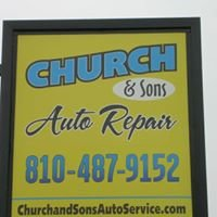 CHURCH AND SONS AUTO REPAIR