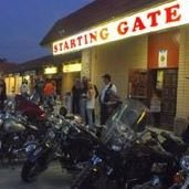 Bike Night At the Starting Gate