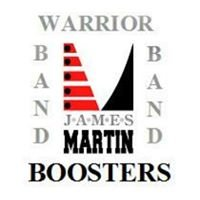 James Martin High School Band Booster Club.