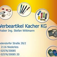 Werbeartikel Kacher KG - Inh. Stefan Wittmann