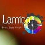 Lamico Print, Sign, Finish