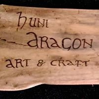 Huni Dragon handmade art and craft