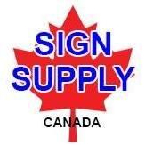 Sign Supply Canada