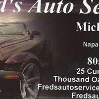 Fred's Auto Service