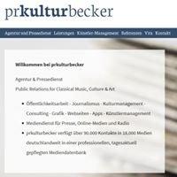 PR Kultur Becker  Agentur & Pressedienst