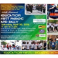 Education First Parade and Rally York, Pennsylvania