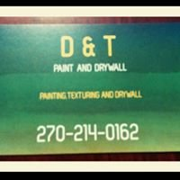 D & T paint and drywall