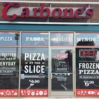 Carbone's Pizzeria on Lake Road. Woodbury, MN.