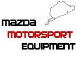 Mazda Motorsport Equipment