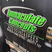 Immaculate Concepts Auto Sound & Speed