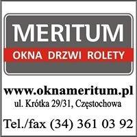 FHU Meritum - Okna Drzwi Rolety Bramy Częstochowa