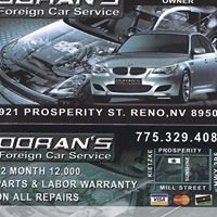 Dorans Foreign Car Service LLC