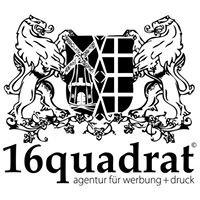 16quadrat - agentur für marketing, werbung + druck