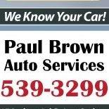 Paul Brown Auto Service